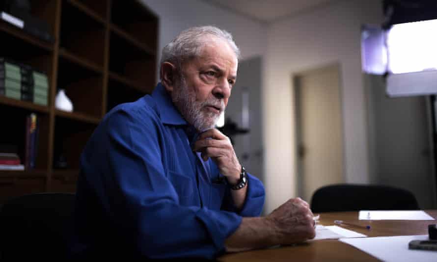 Former president of Brazil Lula da Silva