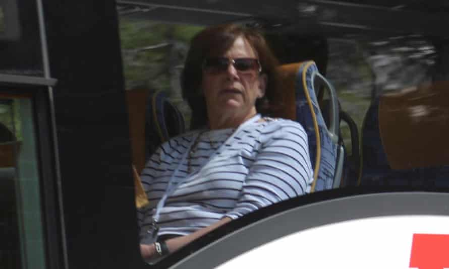 Jessica T Mathews travels on a coach at the Bilderberg summit. She is on the steering committee of the summit and also on the advisory council of Transparency International USA.