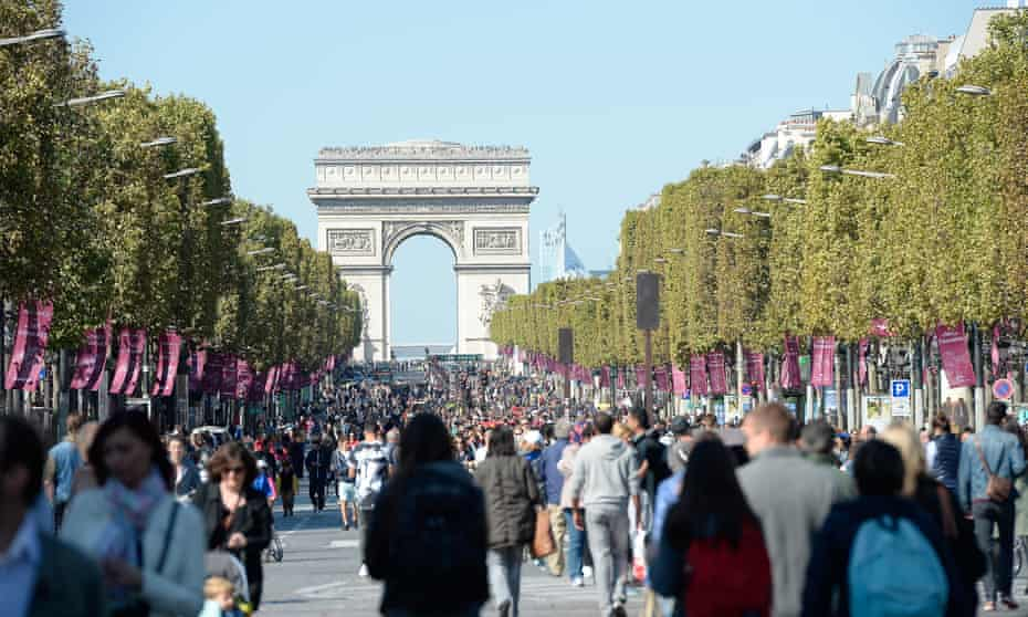 Paris held a car-free day on 27 September.