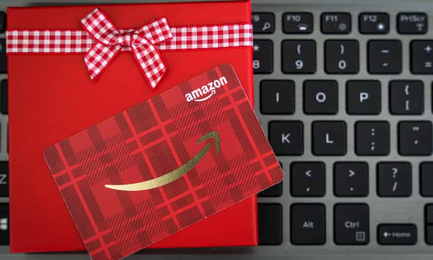 Scams all wrapped up as an Amazon gift card.