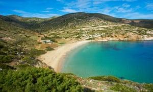 Kedros Beach, Donoussa
