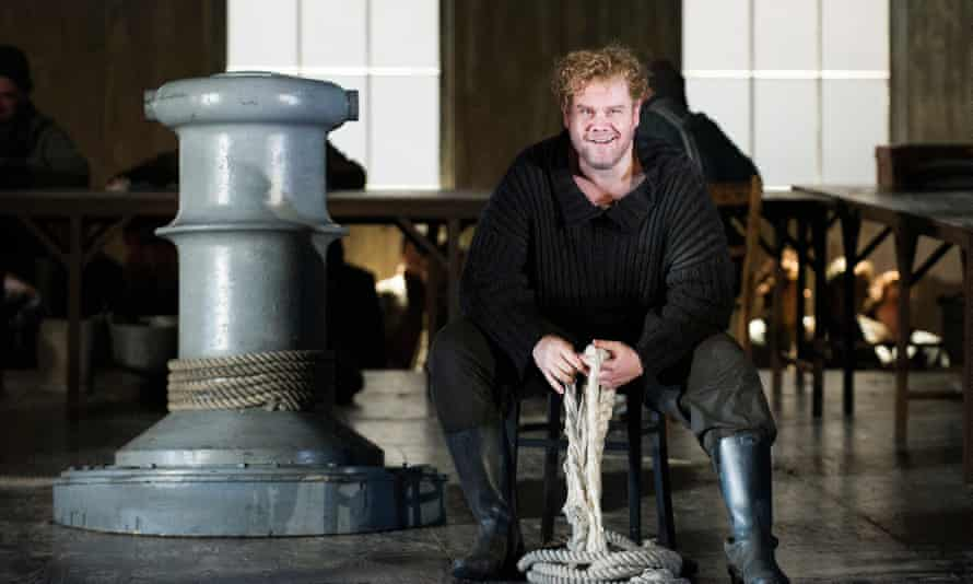 Stuart Skelton as Peter Grimes in English National Opera's production of Britten's opera