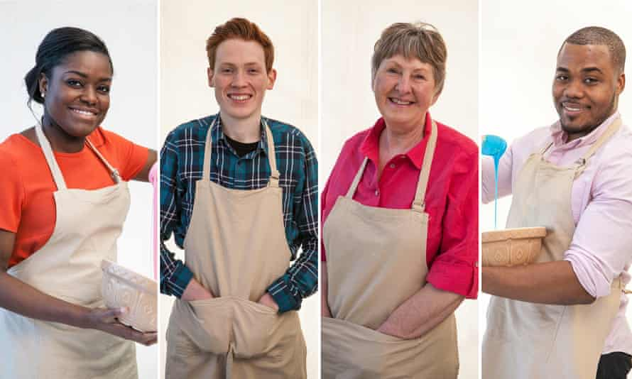 All sweetness and lemon curd … the 2016 Great British Bake Off contestants.