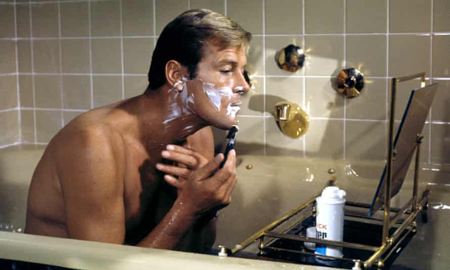 Roger Moore in Live and Let Die, 1973