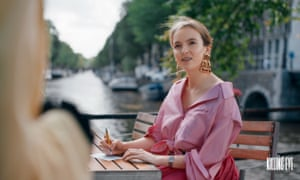 To die for ... Jodie Comer as Villanelle in Killing Eve.