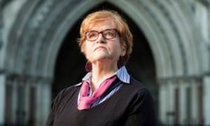 Humbled … Deborah Lipstadt.
