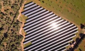 Solar park in Mallorca
