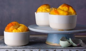 Gruyere and Parmesan Souffle by Rowley Leigh. The Observer Food Monthly 20 best egg recipes.