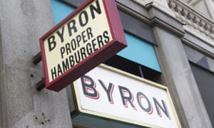 Burger chain Byron is reportedly considering shutting four of its restaurants