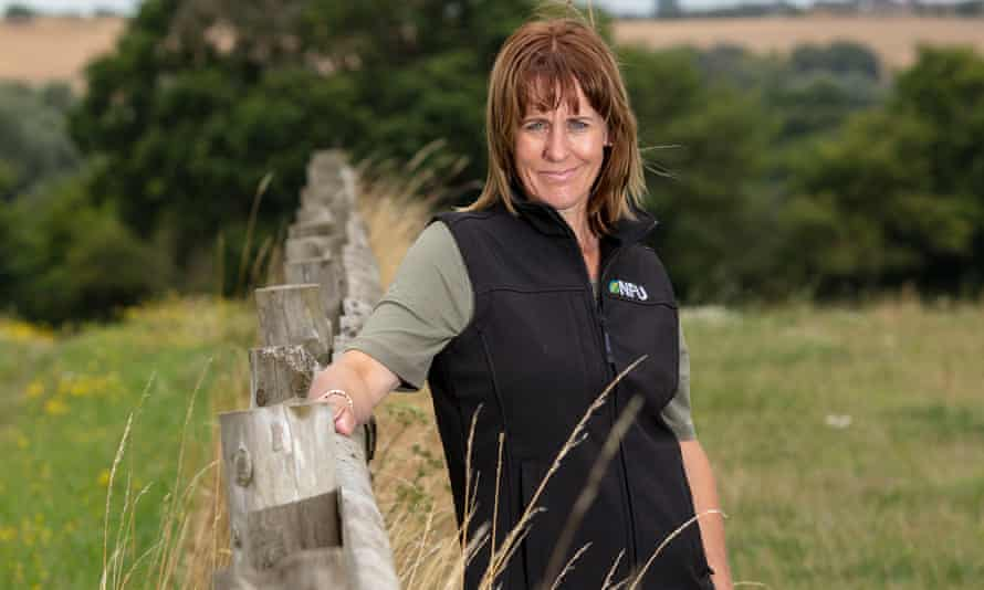 Minette Batters, president of the National Farmers' Union