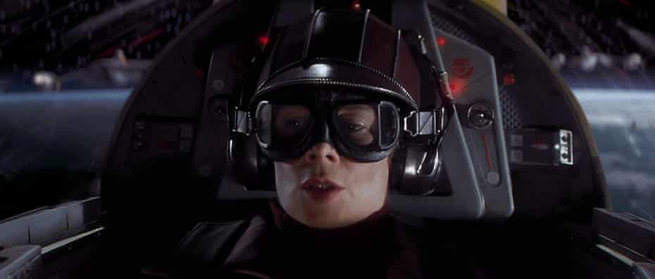 Space warrior … Imrie in Star Wars: The Phantom Menace.