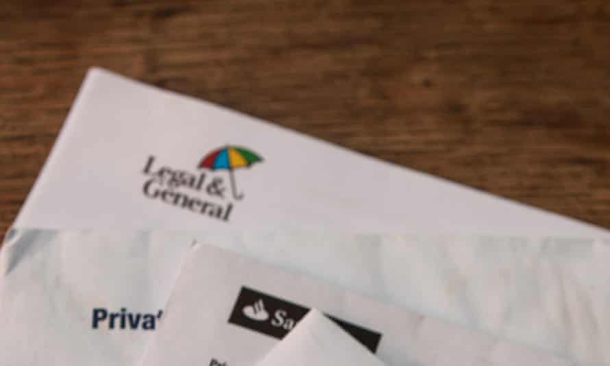 Letters kept on arriving that were clearly intended for a different person at a different address.