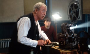 Ether-eal … Michael Caine as Dr Wilbur Larch in the 1999 film version of The Cider House Rules.