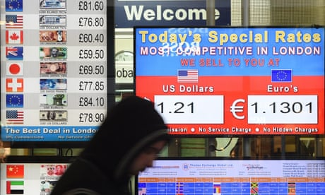 Pound soars but FTSE falls after Theresa May's Brexit speech
