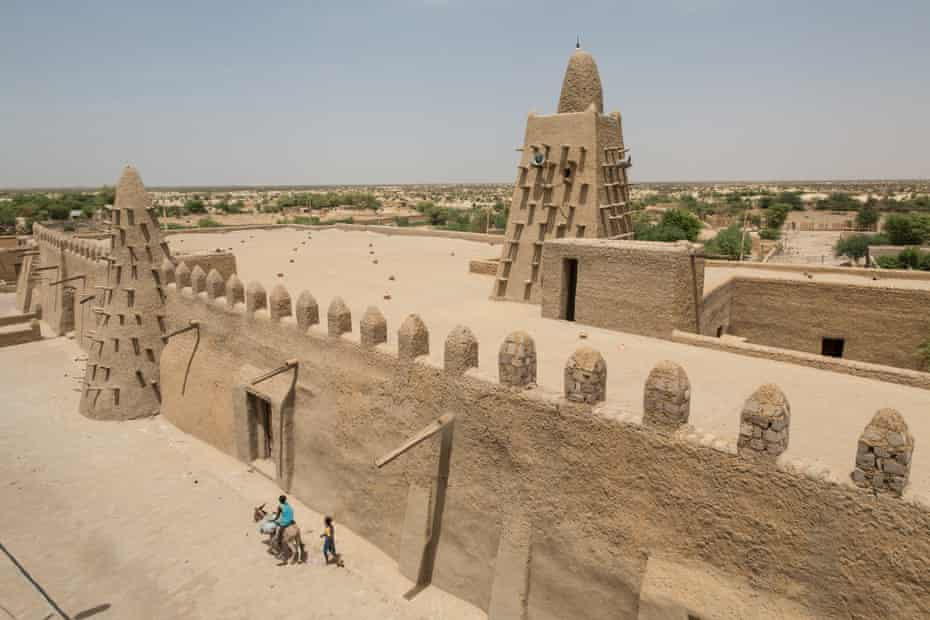 The Djinguereber mosque in Timbuktu