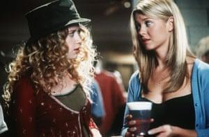 Natasha Lyonne and Tara Reid in American Pie.