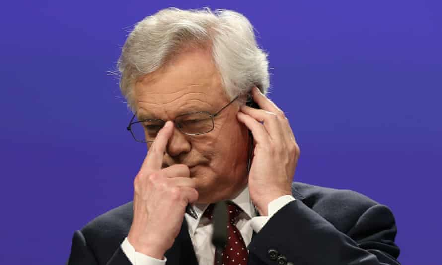 'Britain has had a bellyful of Davis's jejune blather. He has made a monumental mess of things. He should be replaced.'