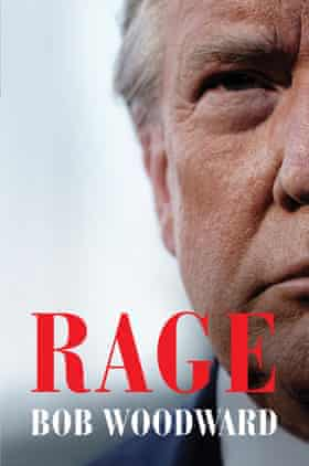 The cover of Rage, by Bob Woodward.