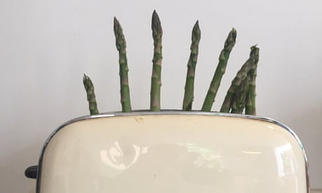 Can you really cook asparagus in a toaster?