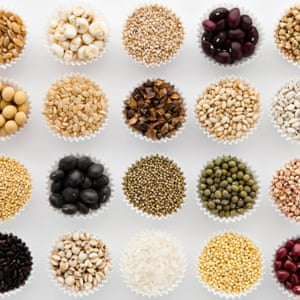 Various cereal grains