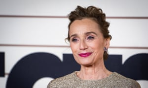 Kristin Scott Thomas is fed up of saying thanks for backhanded compliments.