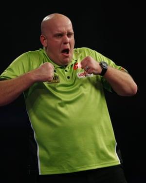 Michael van Gerwen darts player