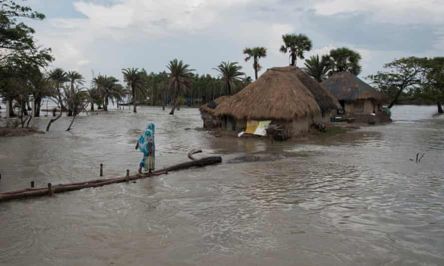 Rising sea levels in the Bay of Bengal