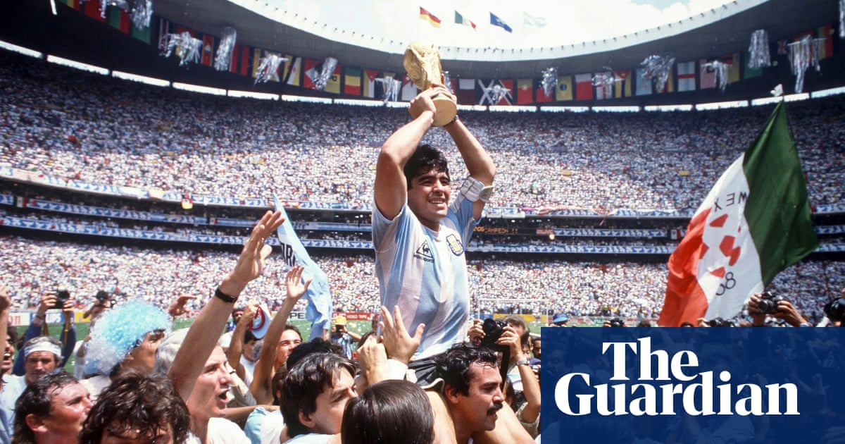 Diego Maradona, one of the greatest footballers of all time, dies aged 60