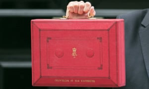 The Budget red box