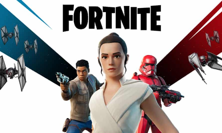 Fortnite exclusive … Star Wars: The Rise of Skywalker.