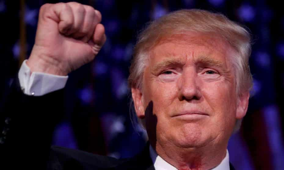Donald Trump contends that the president has vast powers concerning national security.