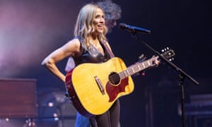 A defiant eulogy to 'having fun, at my age' ... Sheryl Crow at The Lowry, Manchester.