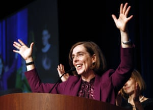 Kate Brown, the US's first openly LGBT governor.