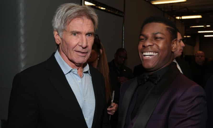 Harrison Ford and John Boyega