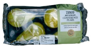 Tesco conference pears
