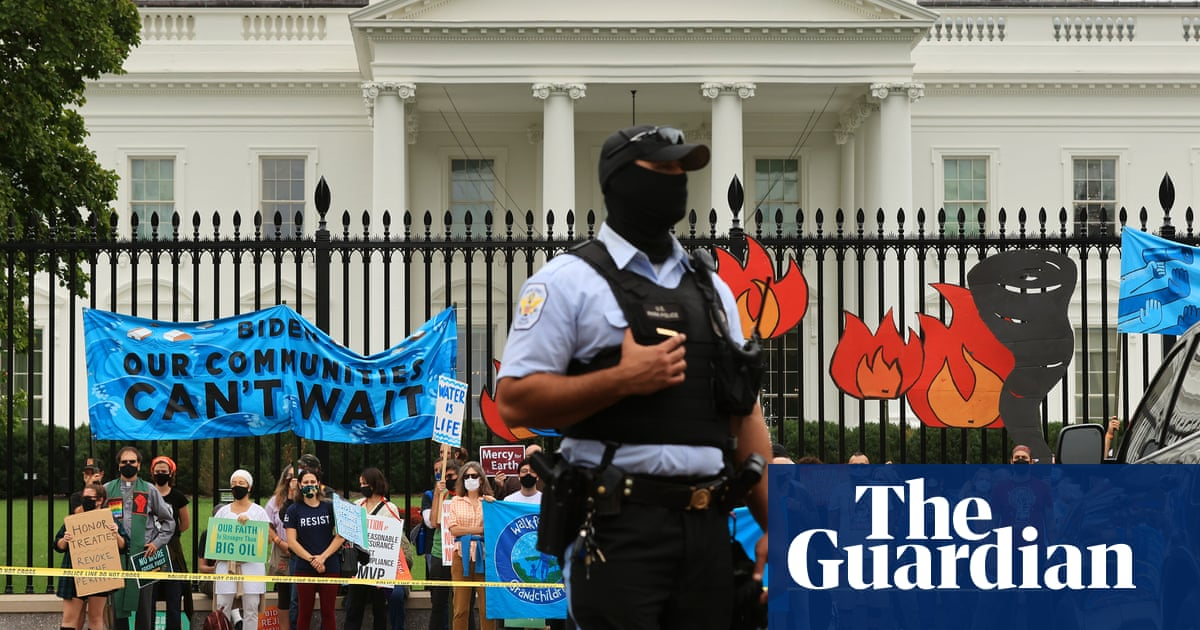 'Tired of broken promises': climate activists launch hunger strike outside White House