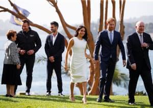 Royal tour of Australia - Day One