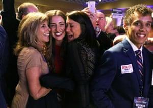Supporters for Republican gubernatorial candidate Ron DeSantis