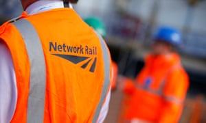 Network rail hi-vis vests