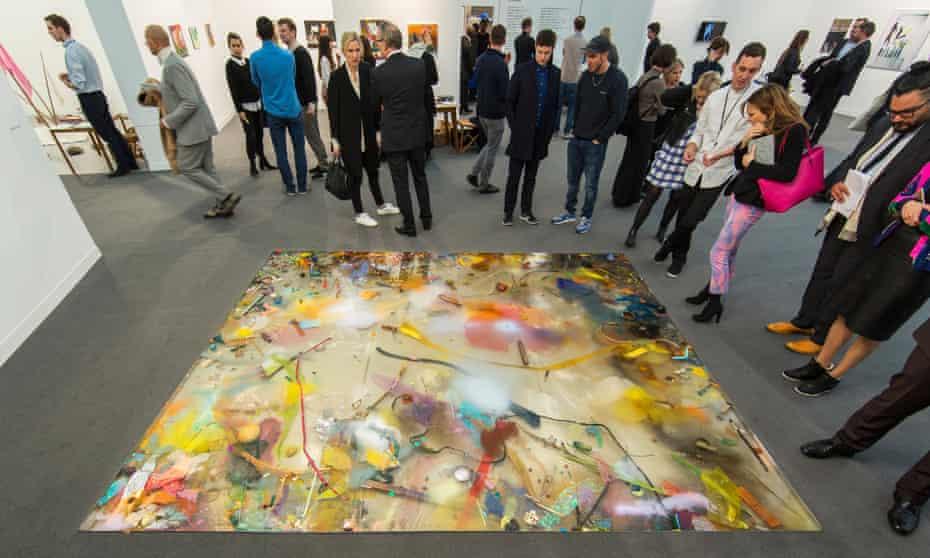 Samara Scott, Frieze art fair 2015