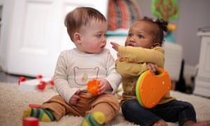 Brendan and Ava – two of the infants followed in Babies: Their Wonderful World