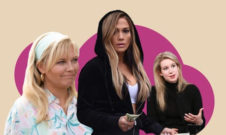 Kirsten Dunst, Jennifer Lopez and Elizabeth Holmes.