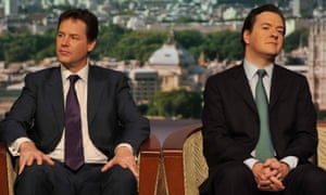 Nick Clegg and George Osborne