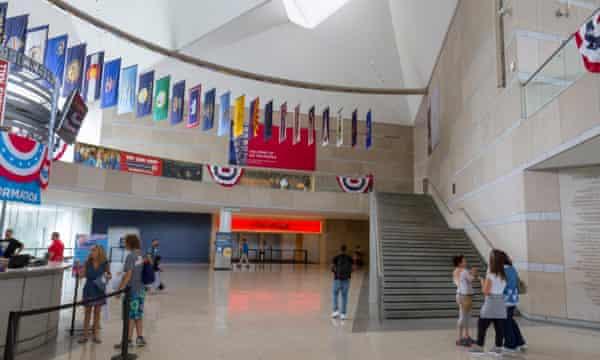 The National Constitution Center, Philadelphia.