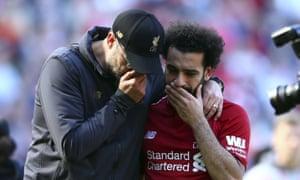 What were Jürgen Klopp and Mo Salah talking about this season?