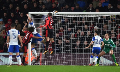 Steve Cook turns poacher to rescue late draw for Bournemouth against Wigan
