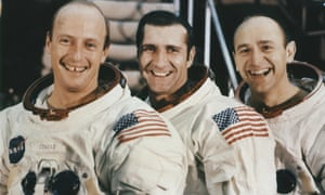 Alan Bean, right, with Pete Conrad, left, and Richard Gordon in 1969.