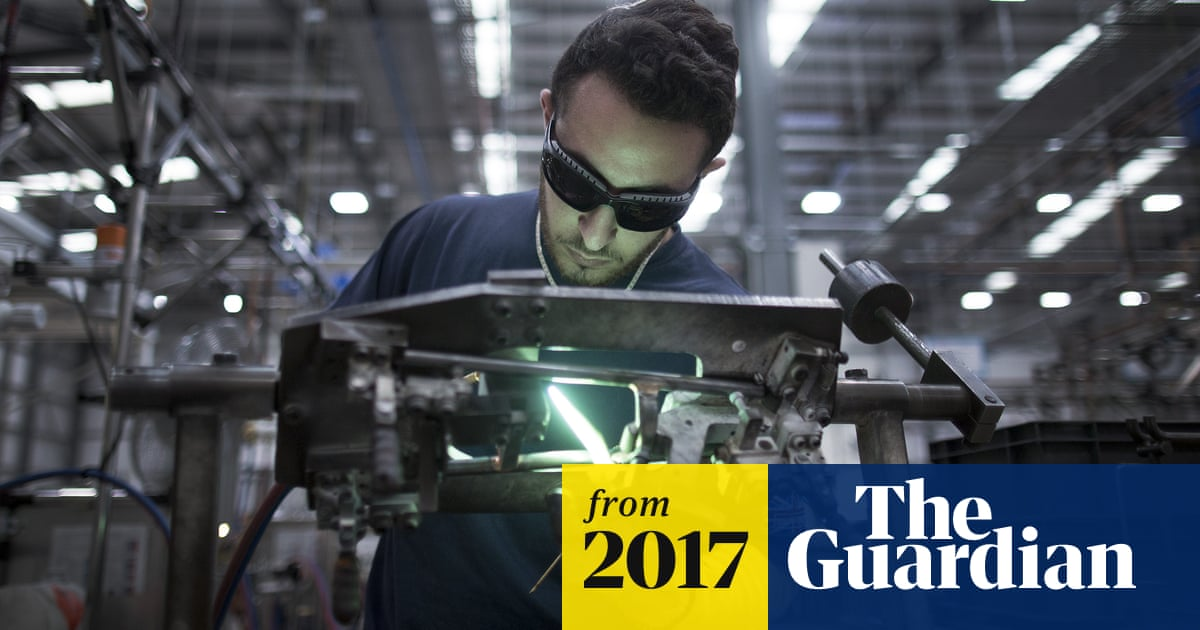 UK manufacturing soars thanks to weak pound and global recovery