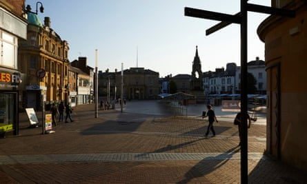 Mansfield in Nottinghamshire