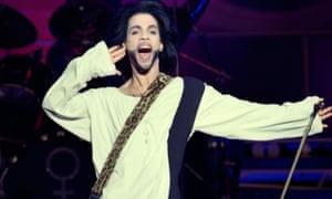 Wonderful recordings … Prince performing in 2016.